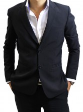 Made-to-measure Tailored Suit and Pants - Black