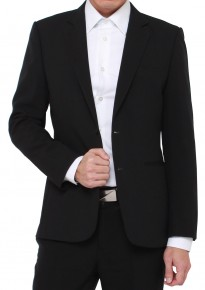 Off-the-rack Tailored Black Blazer