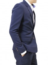 Made-to-measure Tailored Suit and Pants - Navy Blue