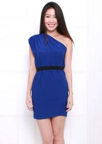 Chloe Toga Dress - Blue