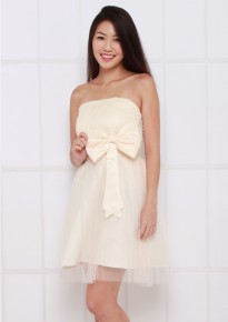 Emily Dress - Champagne