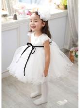 Korean Princess Ruffled Dress