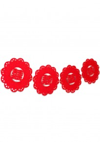 Flower Double Happiness Garland