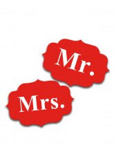 Mr. and Mrs. Tag - Matt Red