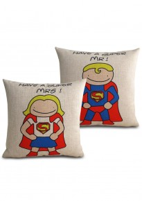 Super Mr. and Super Mrs. Cover Set