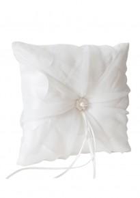 Chiffon Bridal Ring Pillow