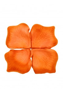 Artificial Rose Petals (100pcs/pack) - Orange