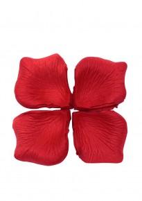 Artificial Rose Petals (100pcs/pack) - Red