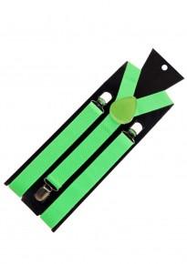 Suspenders - Lime Green