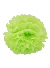 "Paper Flower Pom Pom - Lime Green (Available in 6"" / 8"" / 10"" / 12"" / 14"" / 16"")"