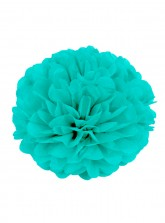 "Paper Flower Pom Pom - Tiffany (Available in 6"" / 8"" / 10"" / 12"" / 14"" / 16"")"