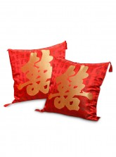 Double Happiness Pillow - Set of 2